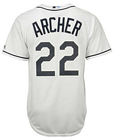 Majestic Men's Chris Archer Tampa Bay Rays Replica Jersey