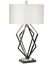 kathy ireland home by Pacific Coast Downbridge City Nights Table Lamp