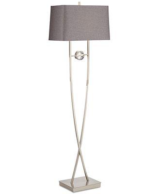 Pacific coast wishbone floor lamp