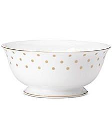 Larabee Road Gold Collection Bone China Serving Bowl