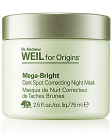 Origins Dr. Andrew Weil for Origins Mega-Bright Dark Spot Correcting Night Mask