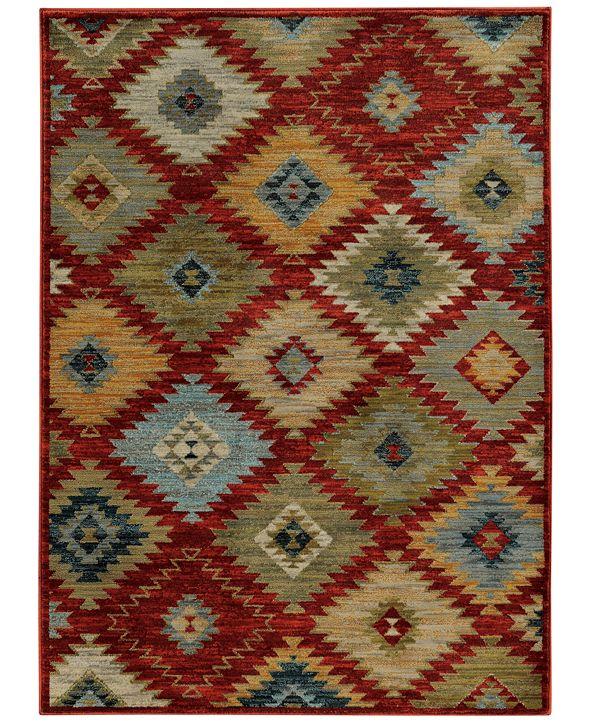 "Oriental Weavers Sedona 5936D 1'10"" x 3' Area Rug"