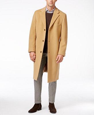 Lauren Ralph Lauren Columbia Cashmere Blend Overcoat