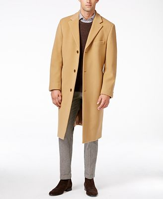 Lauren Ralph Lauren Columbia Cashmere-Blend Overcoat - Coats ...