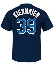 MajesticKevin Kiermaier Tampa Bay Rays Player T-Shirt, Big Boys (8-20)