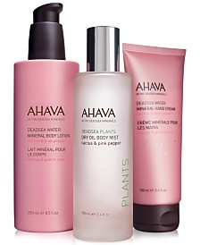 Ahava Cactus & Pink Pepper Collection