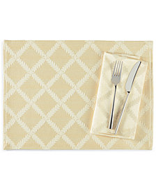 "Lenox Laurel Leaf 19"" Napkin"