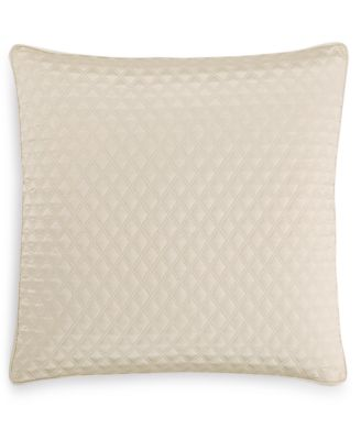 CLOSEOUT! Dimensions Champagne Quilted European Sham, Created for Macy's