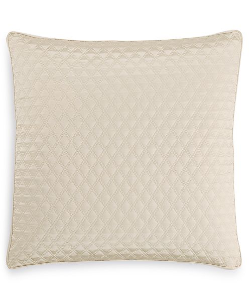 Hotel Collection Dimensions Champagne Quilted European Sham, Created for Macy's