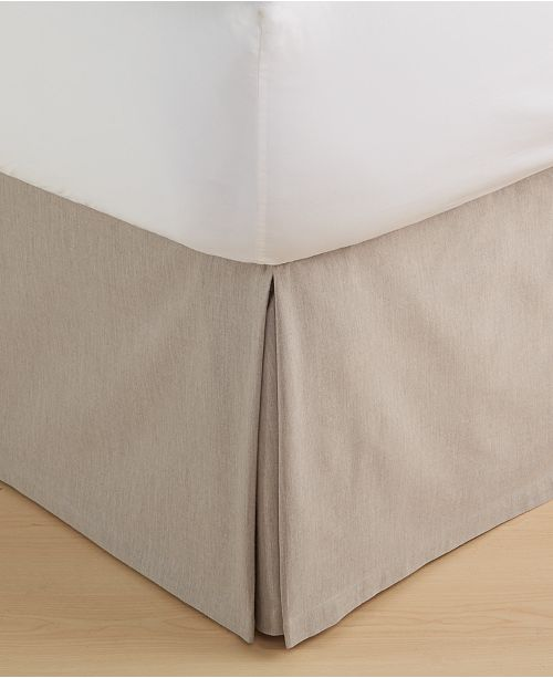 Hotel Collection CLOSEOUT! Eclipse  Queen Bedskirt, Created for Macy's