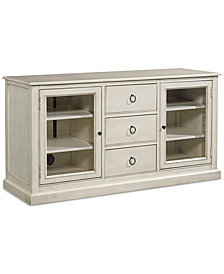 Sag Harbor White Entertainment TV Console