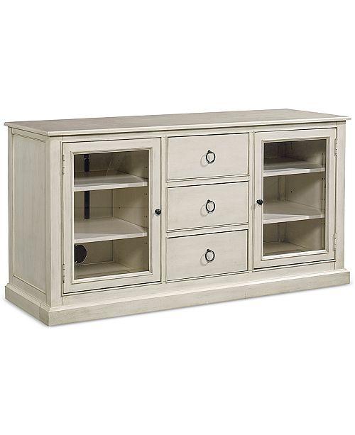 Furniture Sag Harbor White Entertainment Tv Console