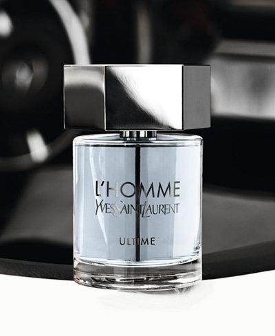 Yves Saint Laurent L'HOMME Ultime Fragrance Collection