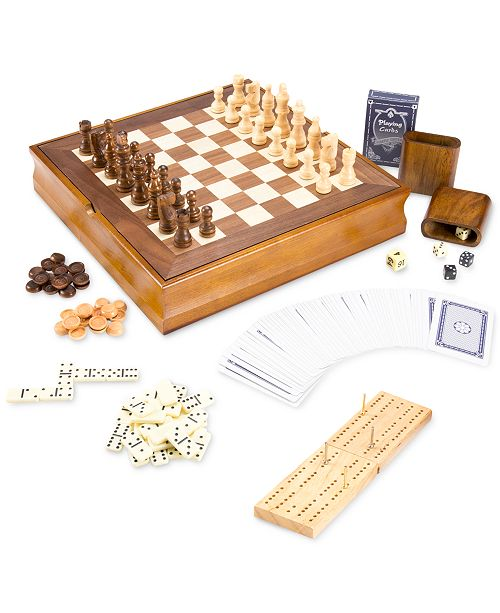 Trademark Global 7-in-1 Classic Games Set