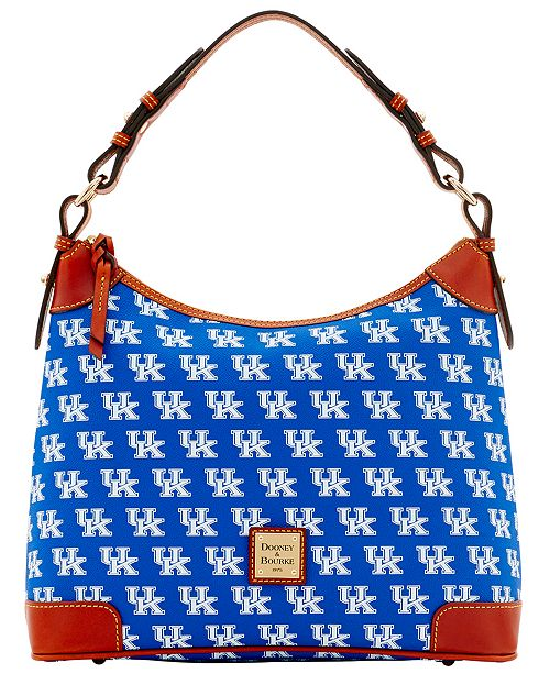 970cf3c89d5 Show your team spirit in style with these NCAA hobo bags from Dooney &  Bourke. Featuring a relaxed, slouchy crescent-shaped construction, these  shoulder ...