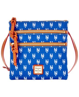 New York Mets Triple Zip Crossbody Bag