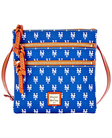 Dooney & Bourke New York Mets Triple Zip Crossbody Bag