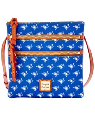 Toronto Blue Jays Triple Zip Crossbody Bag