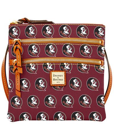Dooney & Bourke Florida State Seminoles Triple Zip Crossbody Bag