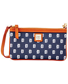 Dooney & Bourke Detroit Tigers Large Slim Wristlet