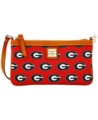 Georgia Bulldogs Large Slim Wristlet