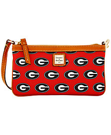 Dooney & Bourke Georgia Bulldogs Large Slim Wristlet