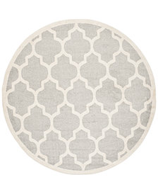 Safavieh Amherst Indoor/Outdoor AMT420 7' x 7' Round Area Rug