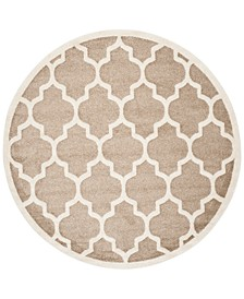 Amherst Indoor/Outdoor AMT420 7' x 7' Round Area Rug