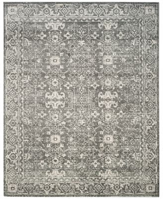 CLOSEOUT! Safavieh Evoke EVK270S Grey/Ivory Area Rugs