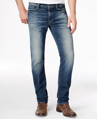 7 For All Mankind Men's Slimmy Slim-Straight Seaside Vintage Jeans ...