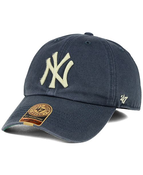 47 Brand New York Yankees Vintage Franchise Cap - Sports Fan Shop By ... 51a89993115