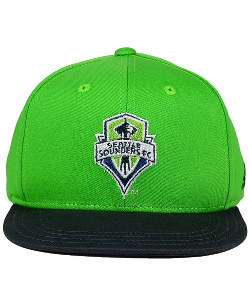 release date: 86165 6f53e shop adidas. kids seattle sounders fc goalie snapback cap. be the first to  write