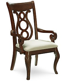 Bordeaux Upholstered Arm Chair Created For Macys