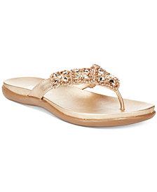 Kenneth Cole Reaction Women's Glamathon Flat Sandals