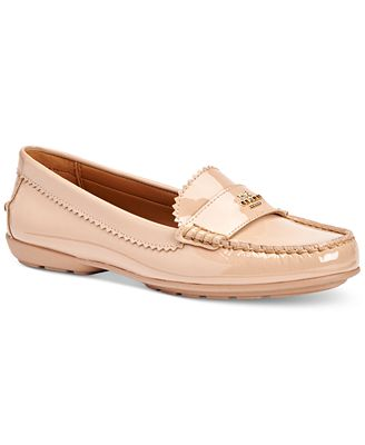 coach s odette casual loafers flats shoes macy s