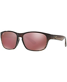 Maui Jim Polarized Sunglasses, 721 Mixed Plate