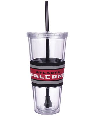 Boelter Brands Atlanta Falcons 22 oz. Hyped Straw Tumbler