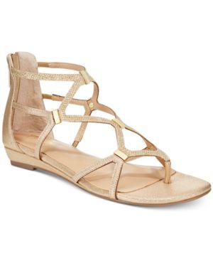 Thalia Sodi Pamella Strappy Demi Wedge Sandals, Created for Macy