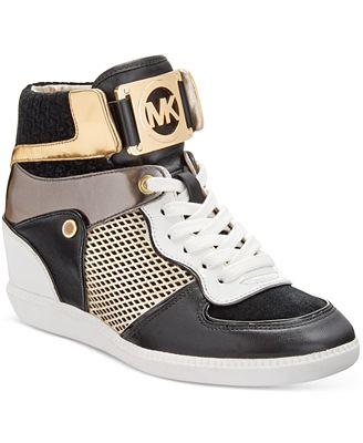 c4298cb4328a8 ... MICHAEL Michael Kors Nikko High-Top Sneakers ...
