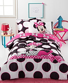Minnie Dots are the New Black Twin 5-Pc. Comforter Set