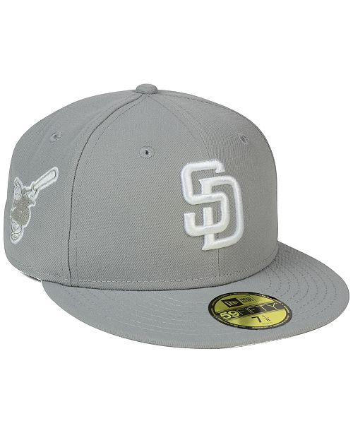 outlet store 9e67e dd955 ... New Era San Diego Padres C-Dub Patch 59FIFTY Fitted Cap ...