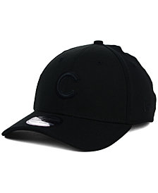 New Era Chicago Cubs Black on Black Classic 39THIRTY Cap