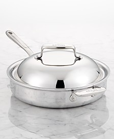 All-Clad d7 3-Qt. Skillet with Domed Lid