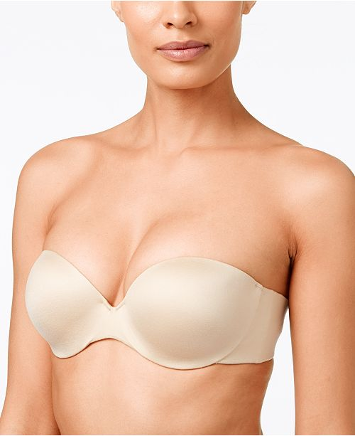 1a45b0bbccfe1 Maidenform Comfort Devotion Custom Lift Strapless Bra 9417   Reviews ...