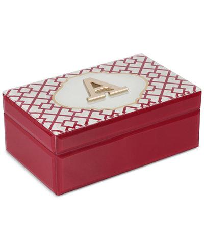 Monogram jewelry box macy 39 s for Macy s standing jewelry box