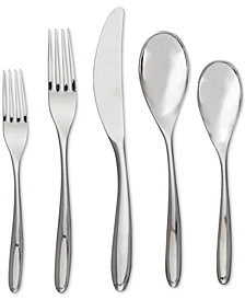 Nambé 45-Pc. Bend Flatware Set
