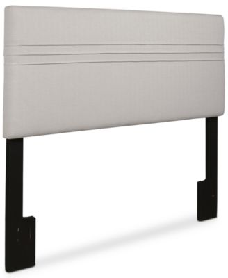 SUNDAY THEORY Landry Full/Queen Upholstered Headboard, Quick Ship