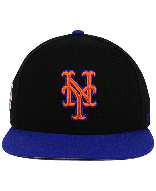9c43d307c94d3 47 Brand New York Mets Sure Shot 2-Tone Snapback Cap   Reviews ...