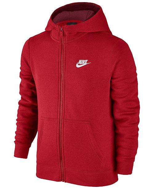d9a4e1b874f6 Nike Full-Zip Club Hoodie