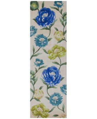 """Catalina Floral Oasis 2'6"""" x 8' Runner Rug"""